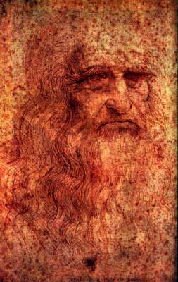 Da Vinci's self portrait